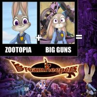 Zootopia Plus Guns by Dreamkeepers
