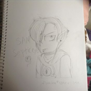 Septiceye sam by Inkykitty165