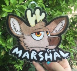 Marshal Badge by TheLastSolstice