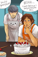 Souyo Week Day 3: Cooking (late) by i0n4