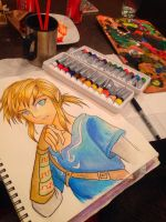 Watercolour link by Mimibert