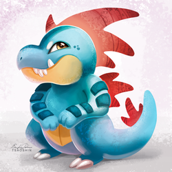 160 - Feraligatr by TsaoShin