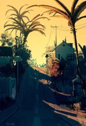 Somewhere in Pasadena. by PascalCampion