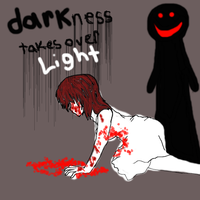 darkness takes over light by KiyaSparleVampire