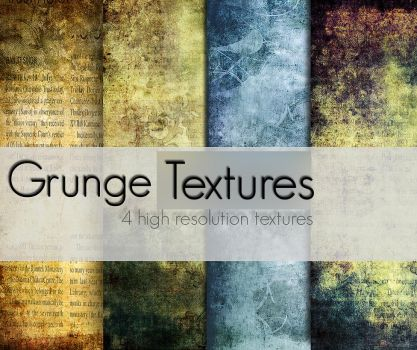Grunge Textures by AndreeaRosse