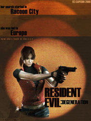 RE Degeneration Promo Poster by scifiroots