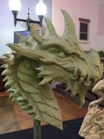 Berach, the Dragon at Film Quest by ddorrity