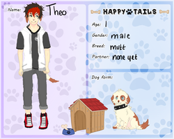 Happy Tails: Theo by Ikebee