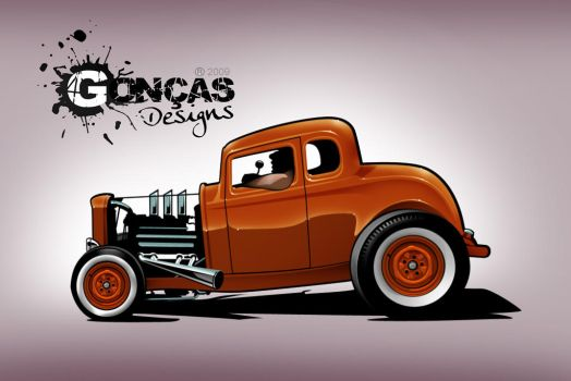 '32 5 window Coupe by carguy88