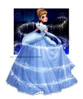 The magic blue dress by Zow3y