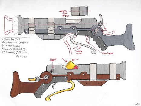 The Blunderbuss Schematic by Nikolai-Bartolf