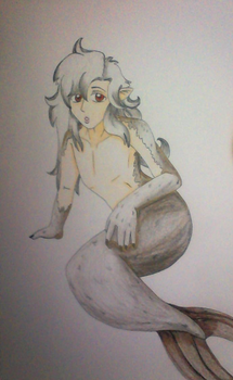 Selkie by Shinigami-cat