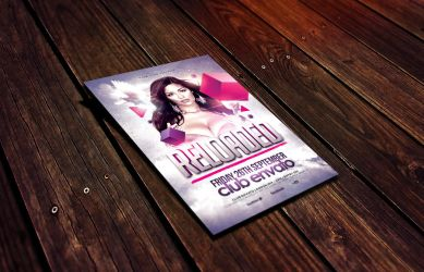 Reloaded Flyer Template by Dannygdesigns
