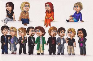 A Time Lord's Companions: VIII by KalaSathinee