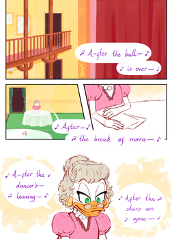 ''After the Ball'' Page 1 - Uncle Scrooge comics by Koizumi-Marichan