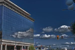 Reflective Building by falcona