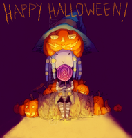 DDSAT: Happy Cieloween by saltycatfish