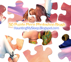 50 Puzzle Pieces by Killa-Cary