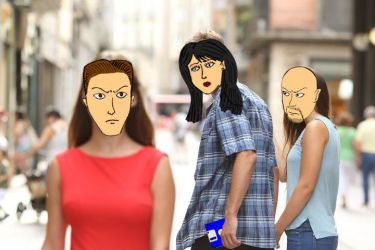 Distracted Boyfriend Justice Style! by DTrinidad