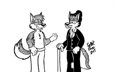 Two Wuffs by Daily-Needs