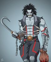 Lobo (Earth-27) commission by phil-cho