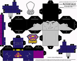 Cubeecraft Bizarro Dc by RatedrCarlos