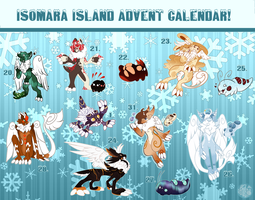 [CLOSED] Isomara Advent Calendar by SlayersStronghold