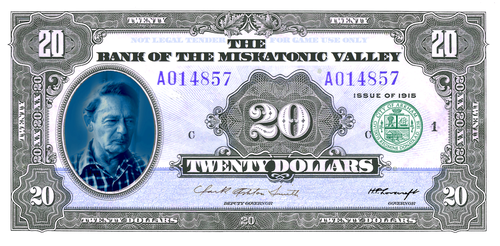 Play Money ($20) RPG/LARP /MISKATONIC VALLEY BILL by vonmeer