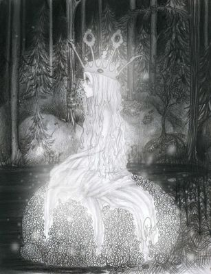 princess of the dark forest by Odespaprikan