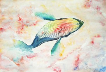 The Whale by Chiichen