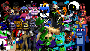 All My Friends ^^ by BigBowser0813