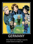 Germany Demotavtional Poster by Russialover174