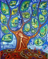 TREE OF LITTLE PLEASURES by Evilpainter