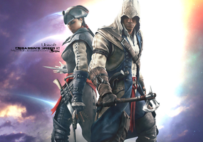Assassin's Creed III -|Connor - Aveline| by LFDN