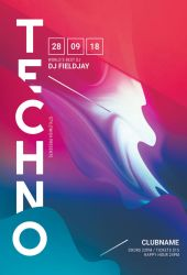 Techno Flyer by styleWish