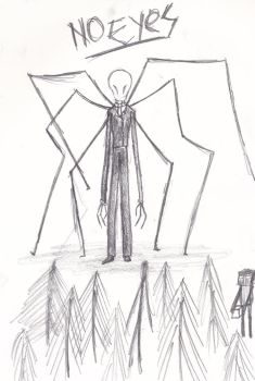 Slenderman by Splicer02