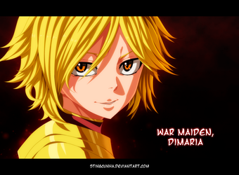 Dimaria Yesta - Fairy tail 452 by StingCunha