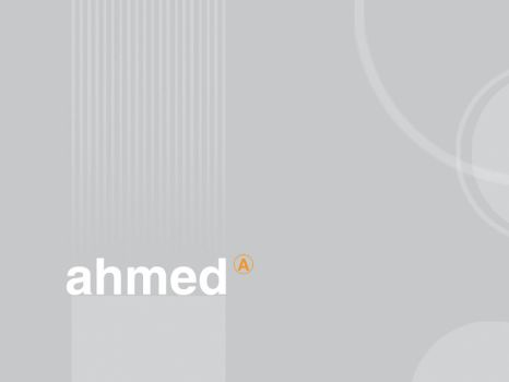 Ahmed by El3fret