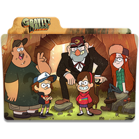 Gravity Falls by mtheuscarvalho