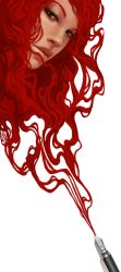 Red Ink by DanielaUhlig