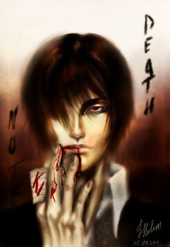 Yagami Light by Helesss