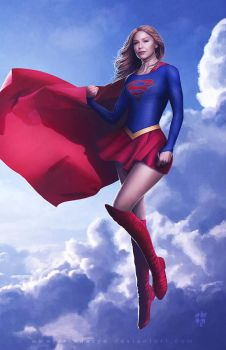 Supergirl by erlanarya