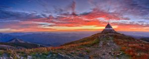 Summit Sunset by Bjay70