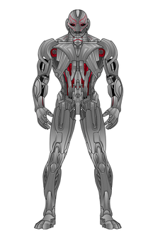 Ultron (Heromachine) by aniartluke82