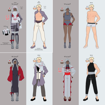 OC Sheet by oviculas