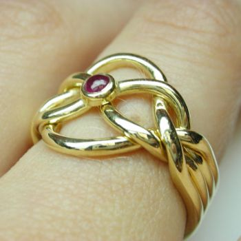 Ruby Solution 2 by Vansee-Jewelry