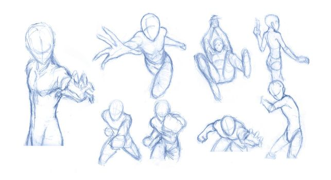 Pose Studies 8 - References from Robert Marzullo by BBstudies