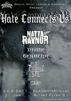 Hate Connects Us Flyer by Rhomeow