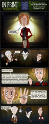 In Print, Guest Strip: Infinity Doctors 8 by AHiLdesigns
