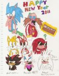 Happy New Year 2011 (2010) by MugenPlanetX
